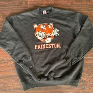 Vintage Princeton Sweatshirt Pullover Large